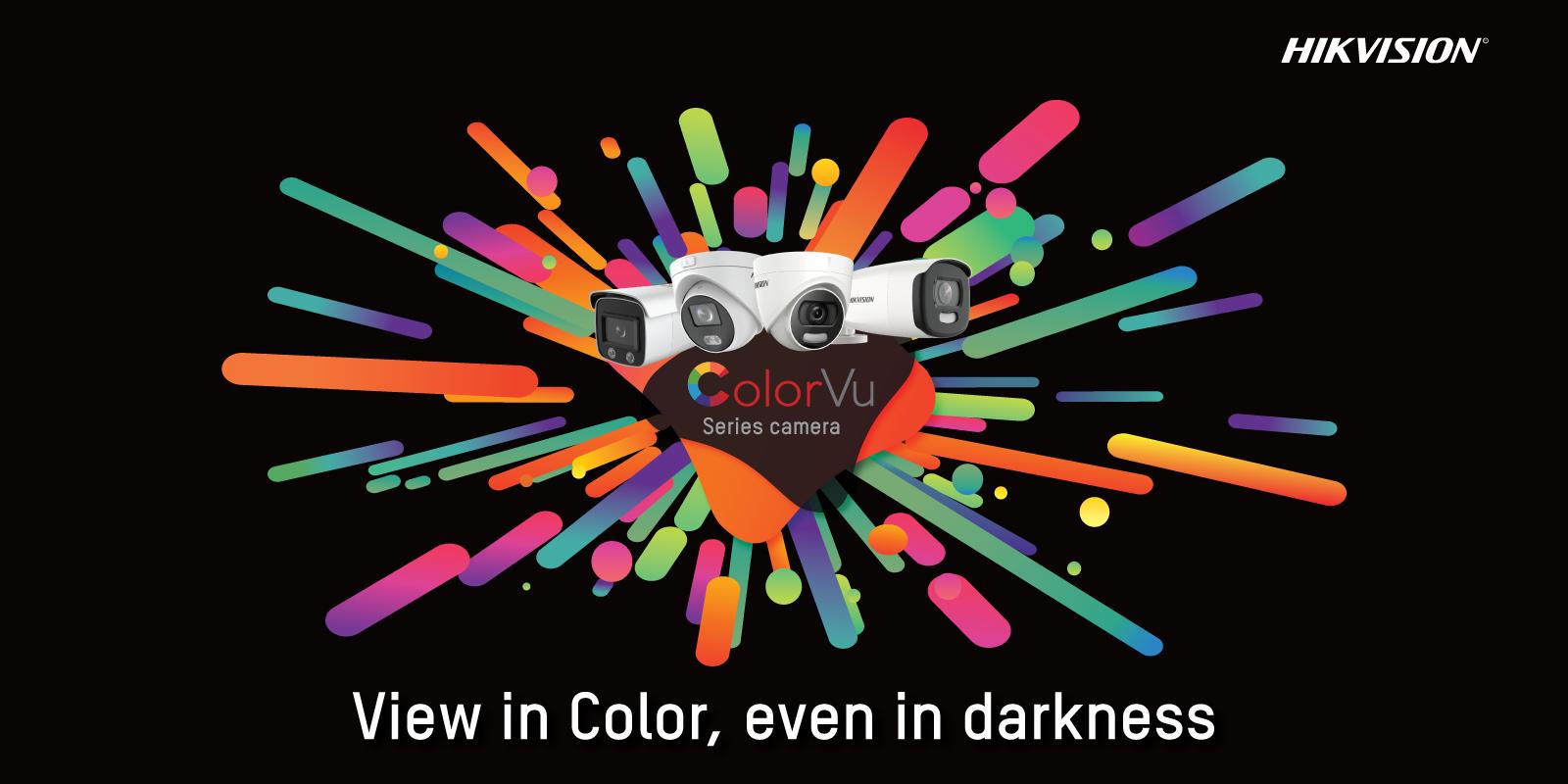 Hikvision ColorVu – kolorowy obraz w zupełnej ciemności