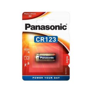 Bateria 3V litowa do ABAX CR123A Panasonic