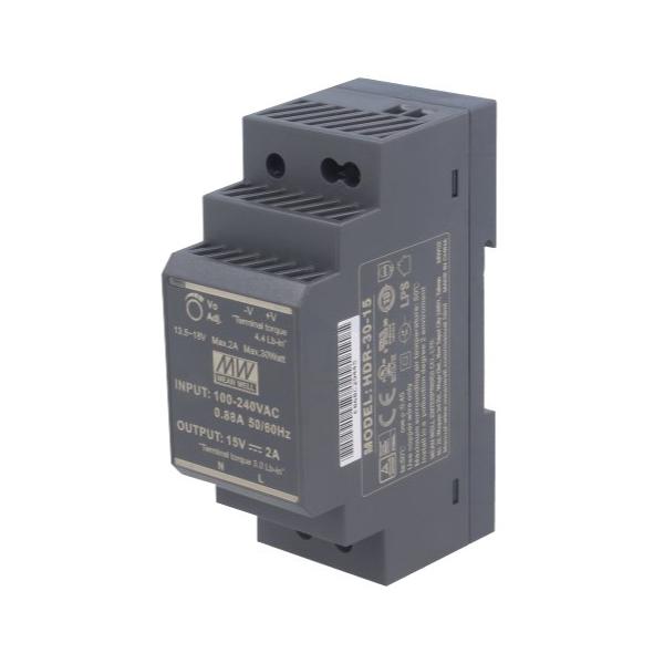 Zasilacz HDR-30-15